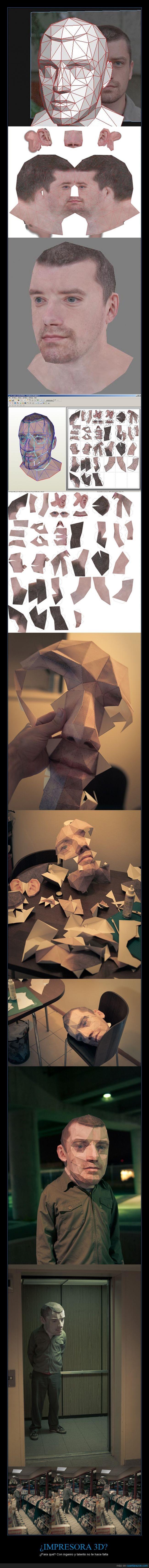 2d,3d,cabeza,cabezón,disfraz,ideas para halloween,impresora,máscara,origami,paciencia,papel,papercraft,polígonos,puzzle