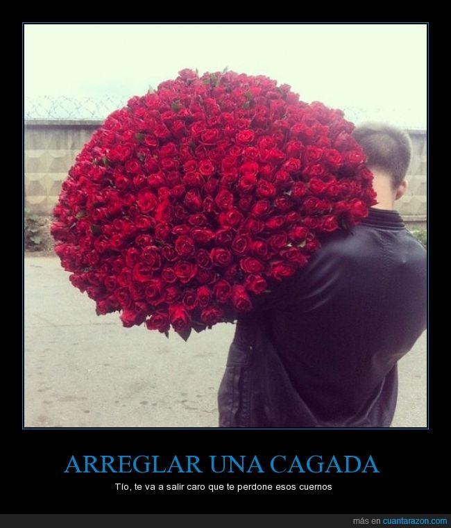 Cu nta raz n ramos de rosas salva relaciones - Ramos de flores grandes ...