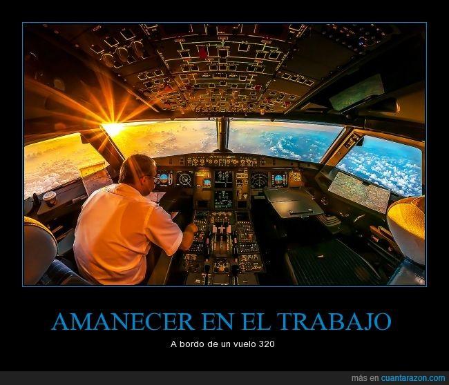 amanecer,avion,cielo,nubes,oficina,sol,trabajo,vista,vuelo