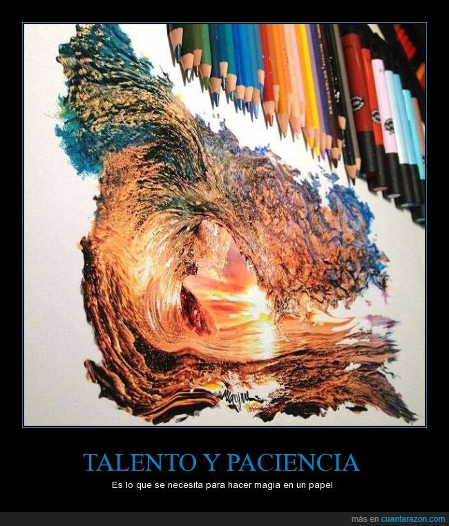 Asombroso,Magia,Mar,Ola,Paciencia,Papel,Talento