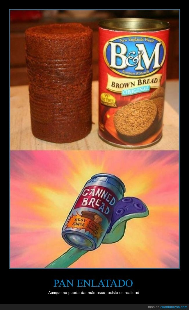 bob esponja,existe,lata,pan