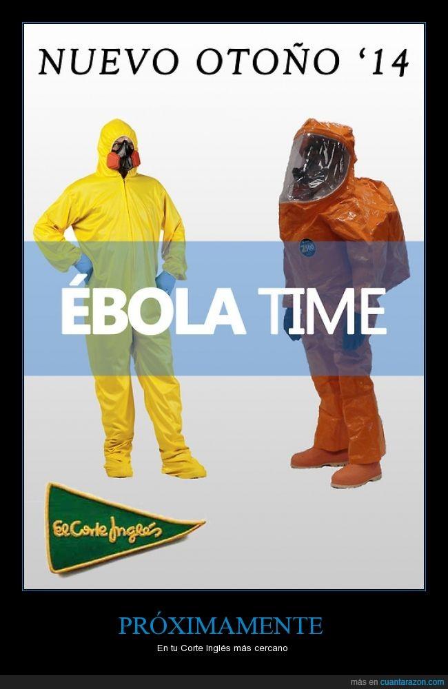 corte ingles,ébola,enfermedad,infección,ropa,vestido