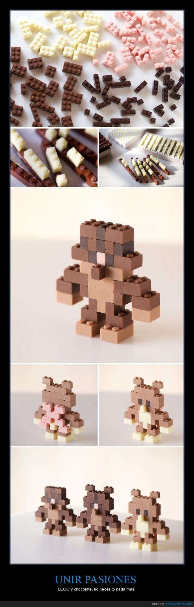 chocolate,figuras,lego