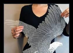 Enlace a Esculturas de papel