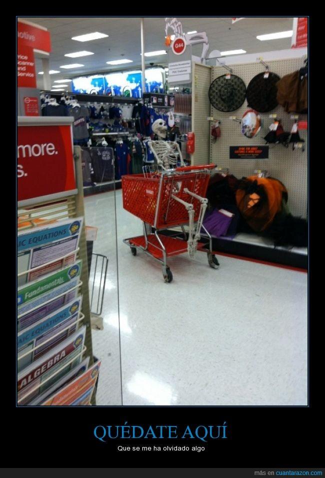 cadaver,carrito,compra,esperar,madres,supermercados,tiempo