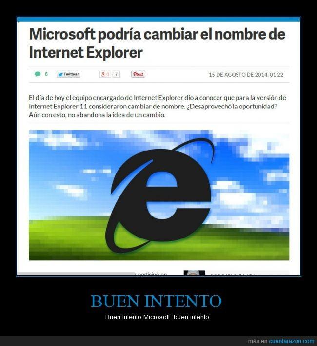 Caca,Intento,Internet Explorer,Microsoft
