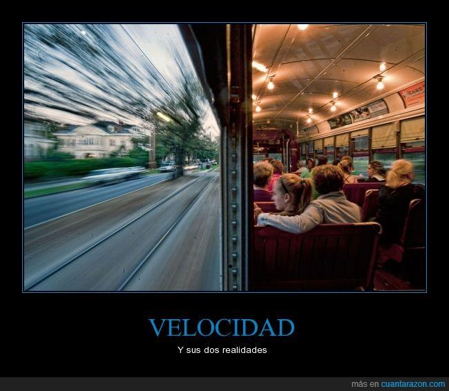 dentro,efecto,fuera,perspectiva,tren,trenes,vagones,velocidad