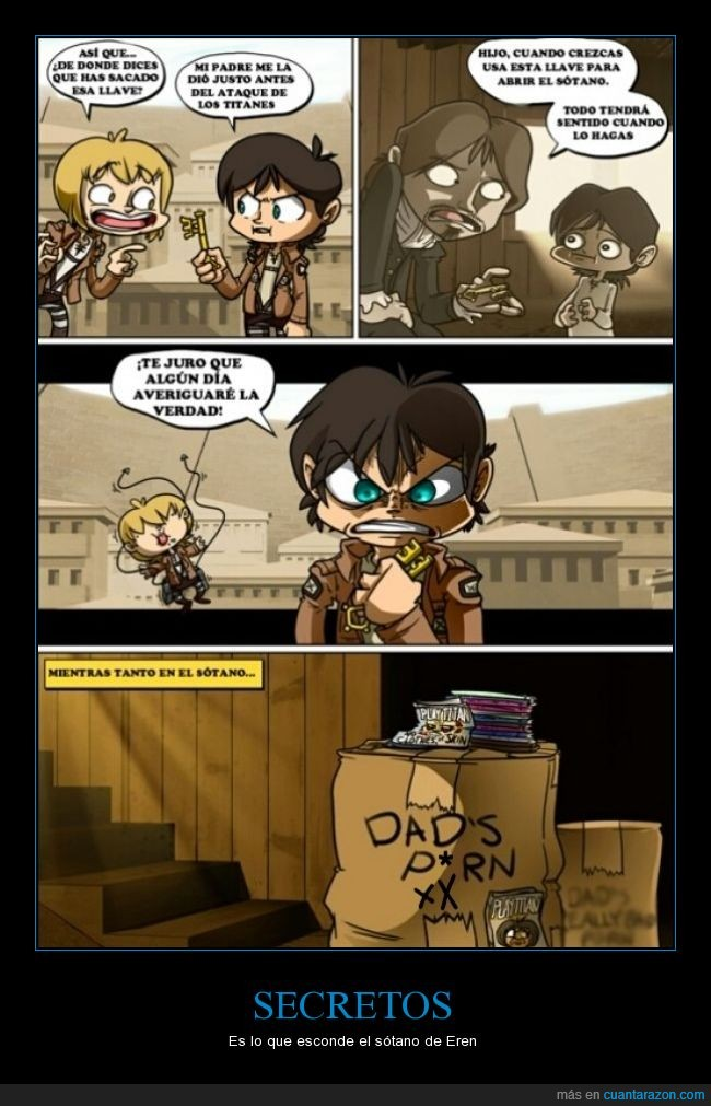 ataque a los titanes,attack on titan,cajas,eren jaeger,mayor,revistas x,shingeki no kyojin