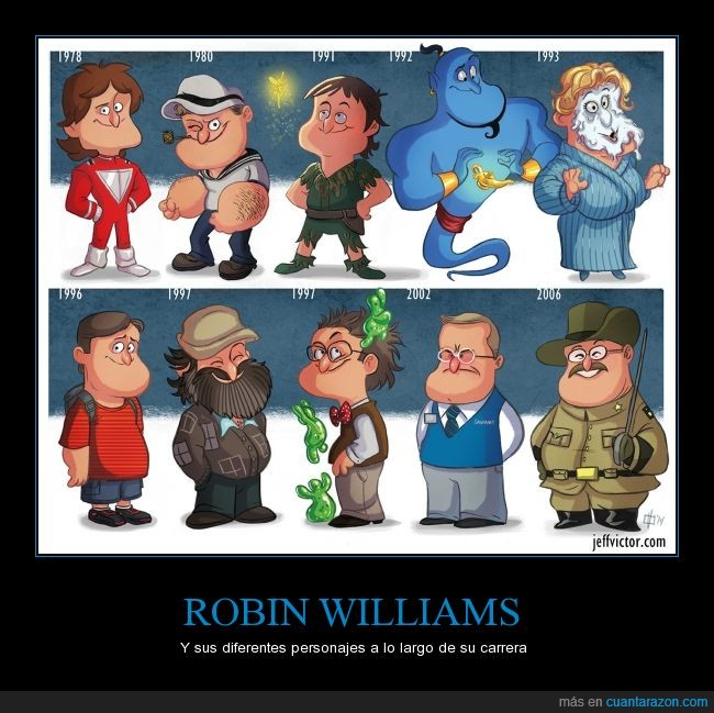 carrera,diferentes,flubber,genio,jack,largo,personajes,peter pan.,Robin Williams