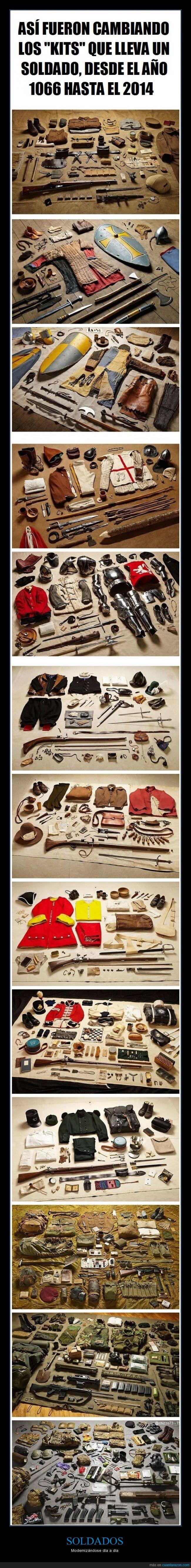 armas,cambio,diferente,equipamiento,guerras,kits,modernizar,pistolas,soldados,tiempo