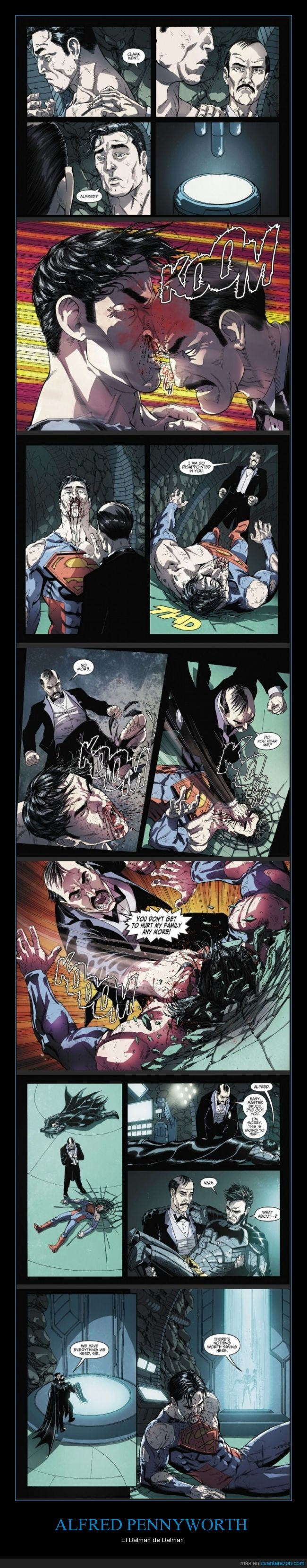 alfred,batman,épico,fuerte,fuerza,luchar,más mulo y no nace,pennyworth,proteger,superman