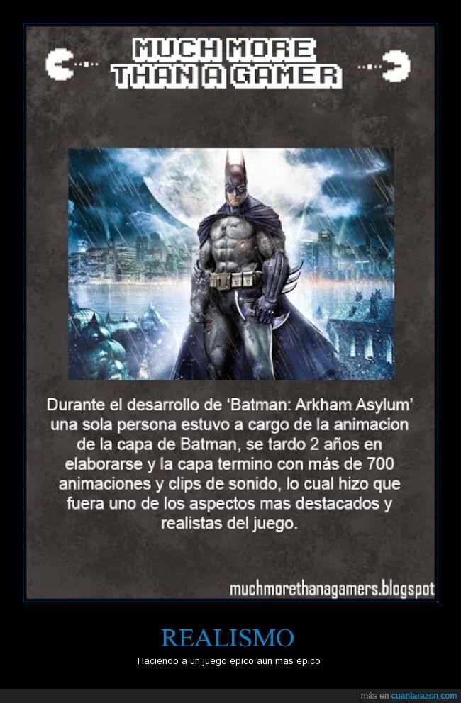 animacion,animar,arkham asylum,batman,capa,real,realismo,sonido