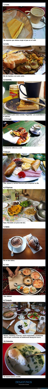 australia,brasil,comer,comida,cuba,desayuno,filipinas,india,iran turquia colomnia,italia,mundo,países,parte 1,portugal