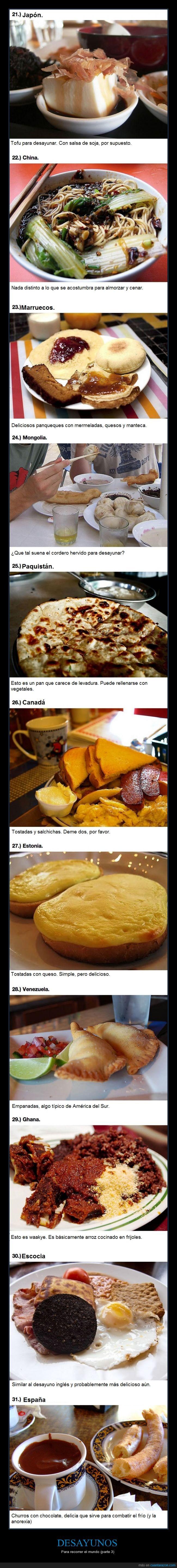 churros,comer,comida,desayuno,escocia,españa,mundo,paises,parte 3,venezuela