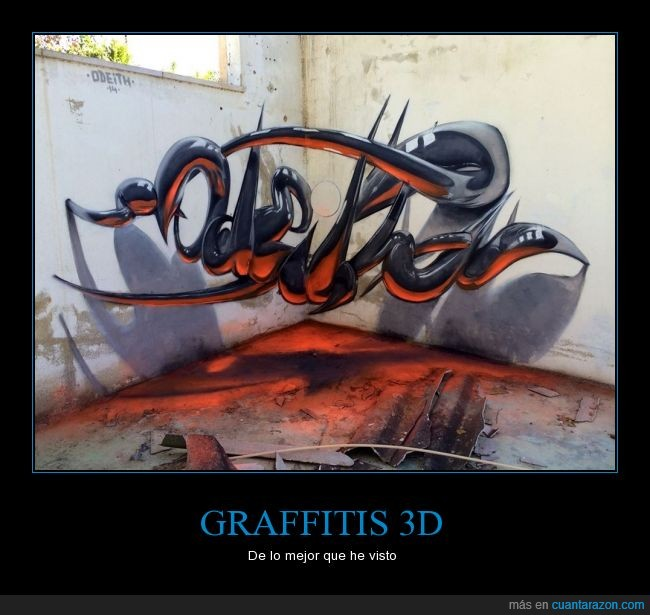 3d,arte,casa,creatividad,esquina,graffiti,ingenio,pintura