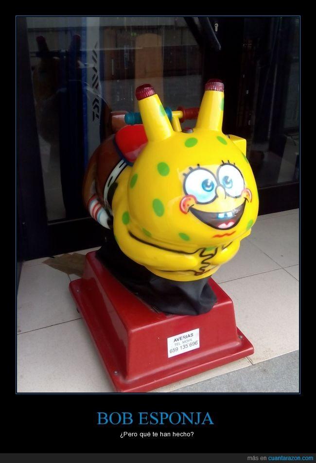 abominación,bob esponja,cochecito,foto propia,miedo,pikachu,pintar,reciclar
