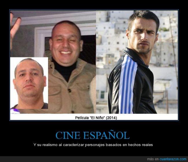 Caracterización,Cine español,El Nene,El Niño,Jesús Castro,Mohamed El Ouazzani,Película
