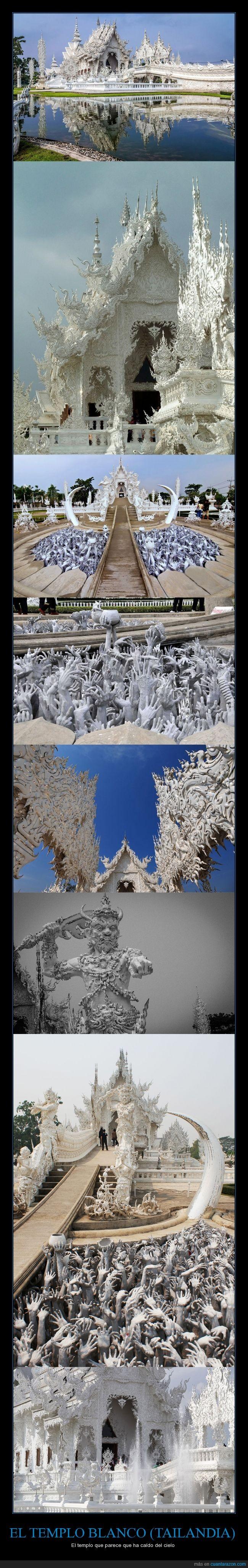 blanco,Chalermchai Kositpipat,tailandia,templo,Wat Rong Khun