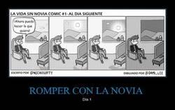 Enlace a ROMPER CON LA NOVIA