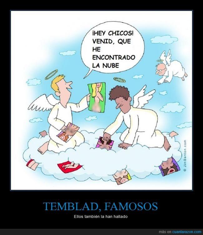 ángeles,cómic,fotos,humor,informática,Internet,jennifer lawrence,nube,ropa,servicios