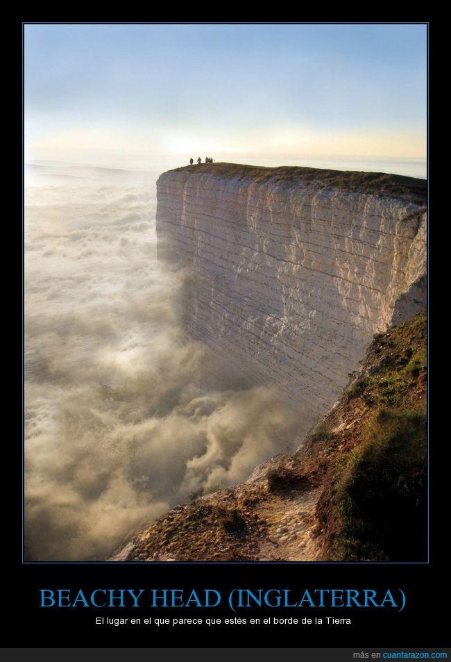 acantilado,Beachy Head,borde,impresionante,Inglaterra,naturaleza,punta,risco,tierra