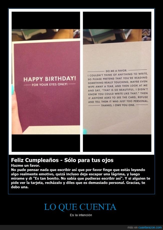 algo es algo,cumpleaños,dedicatoria,felicitación,intención,tarjeta