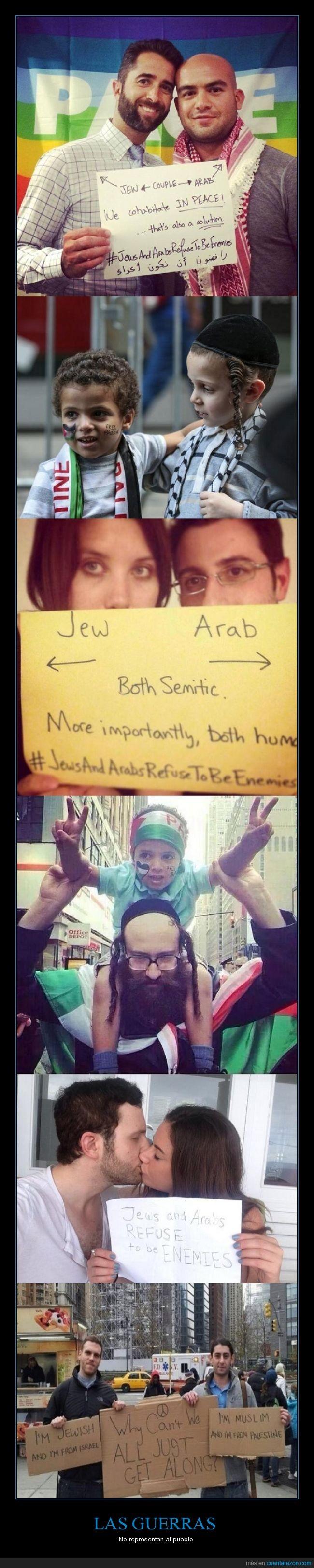 guerra,Israel,juntos,Palestina,paz,pueblo