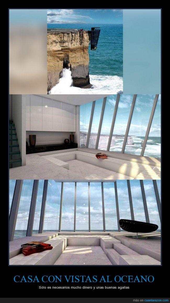 australia,casa,oceano,pacifico,paisaje,vista