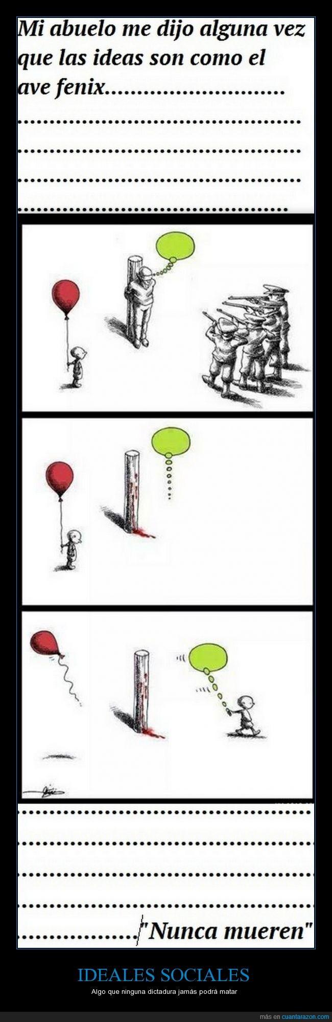 ave,dictadura,ejecutar,fenix,gobierno,idea,ideal,matar,niño,politica,pueblo