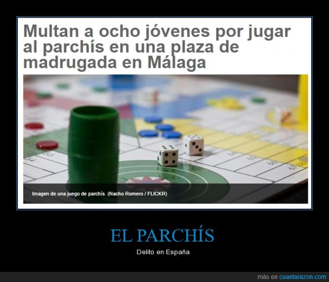 delito,juego,parchis,spain is diferent,tablero