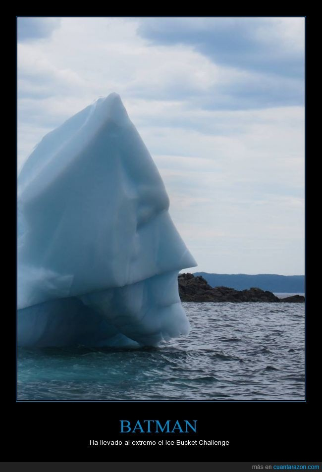 batman,hielo,iceberg