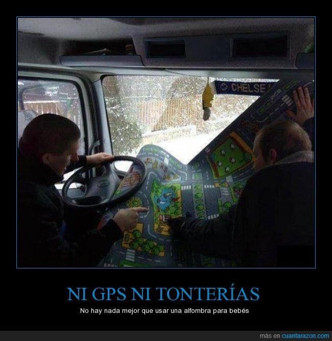 alfombra,camión,conducir,gps,hostias