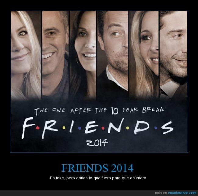2014,actores,friends,retorno,viejos