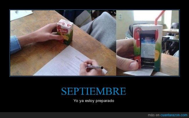 chuletas,examen,ingenioso,septiembre,zumo