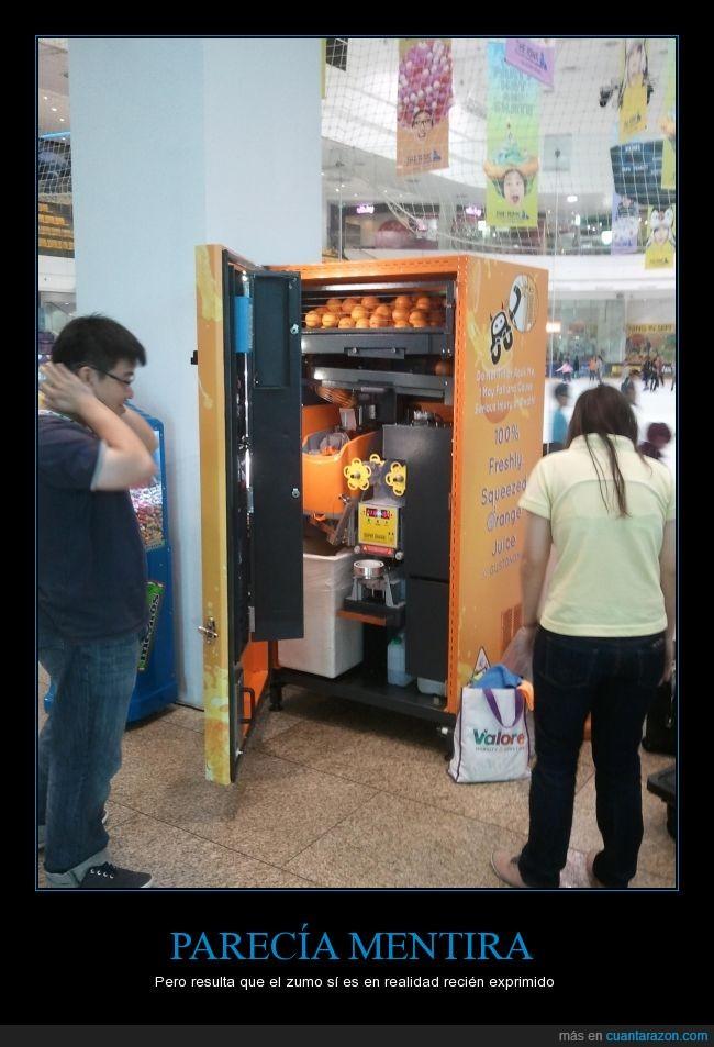abrir,cítricos,expendedoras,jugo,máquina,naranjas,rellenar,zumo