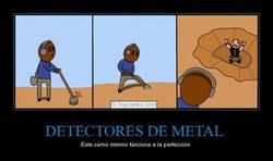 Enlace a DETECTORES DE METAL