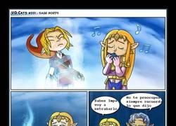 Enlace a Recuerda sus enseñanzas, Zelda