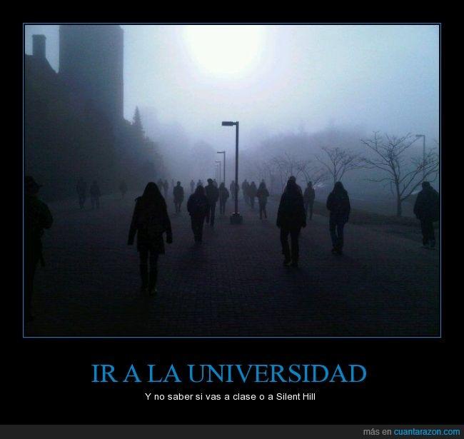 gente,Londres,neblina,niebla,sueño,zombie