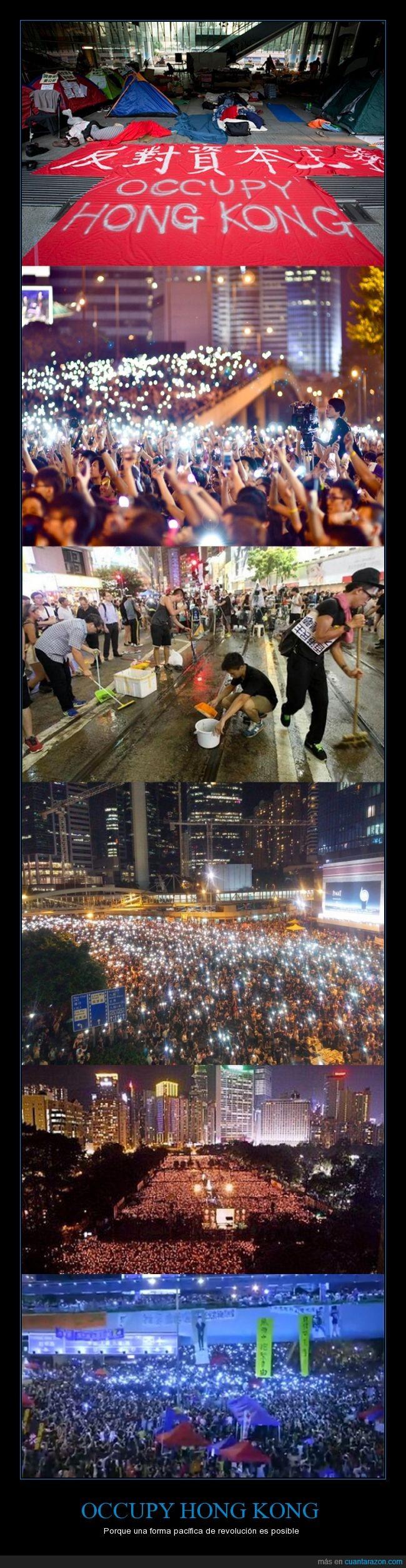 censura,ciudad,hong kong,llevar,luz,manifestacion,movil,pueblo,revolucion