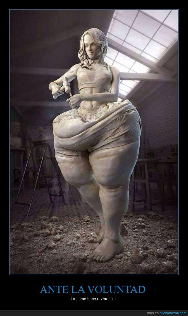 carne,esculpir,escultura,Estatua,marmol,mujer