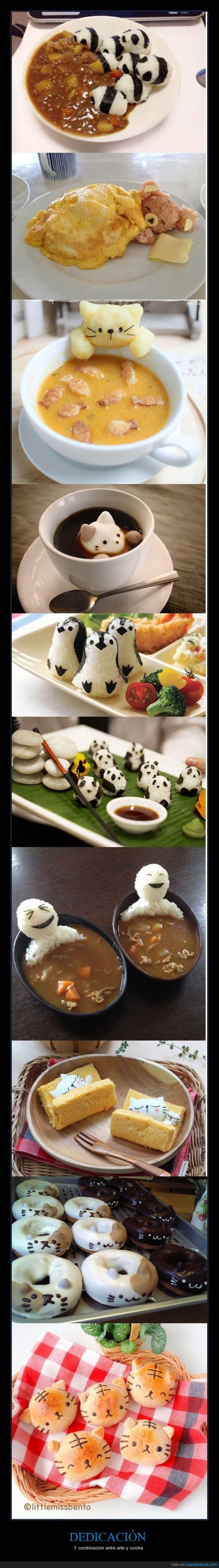 arroz,arte,cocina,dedicacion,dulces,platos