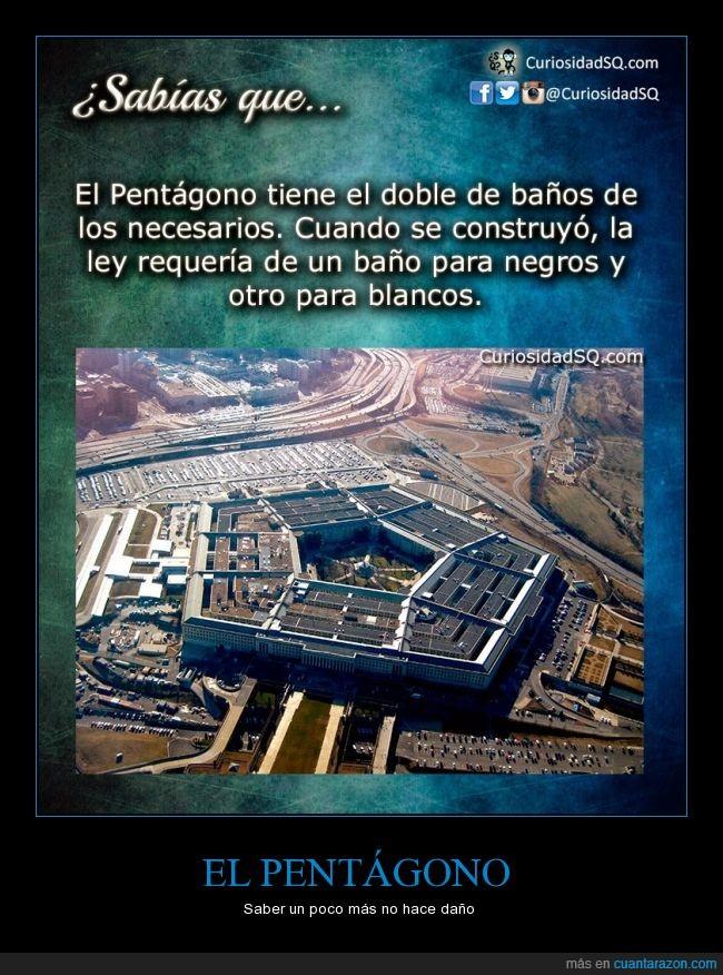 baño,blancos,ley,negros,Pentágono