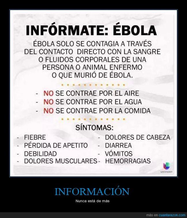 contagio,ebola,enfermedad,sintomas