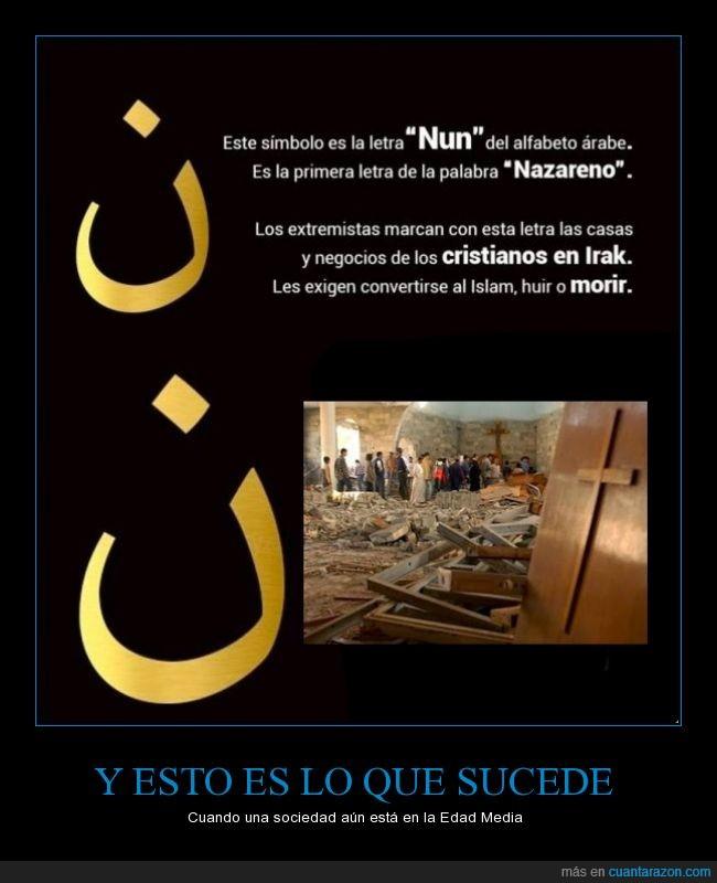 Actualidad,Cristianos,EE.UU,francia,IE,intolerancia,Irak,Israel,Muerte,Musulmanes,racismo