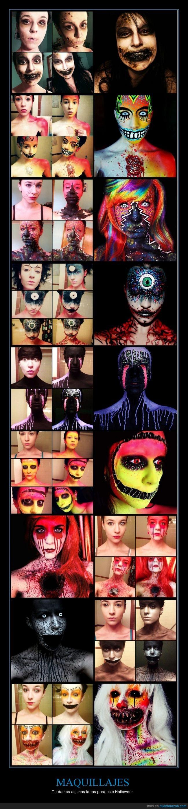 divertidos,fantasma,fiesta,Halloween,horror,maquillaje,monstruo,muertos,terror