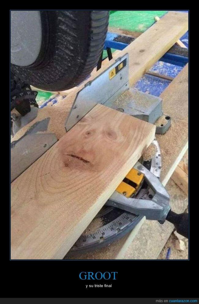 aserradero,Groot,madera,maderera,película,personaje,tabla,tablón