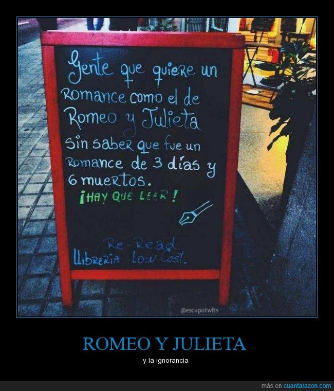 dia,durar,julieta,lectura,leer,muerte,romance,romeo