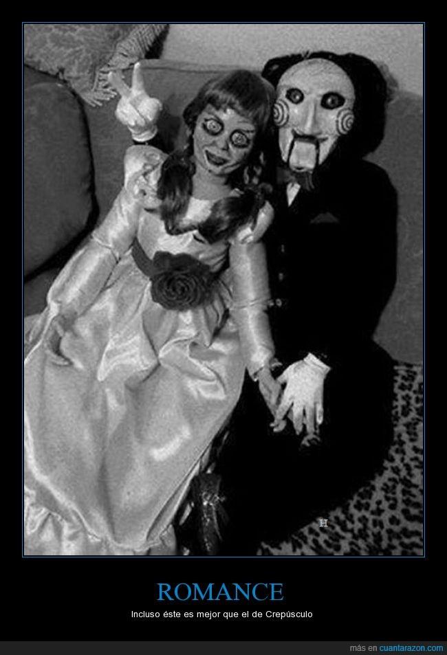 amor,annabelle,billy,boda,muñeco,muñecos,puzzle,saw,terror,vida