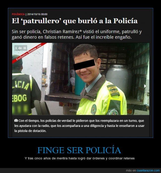 la pobreza es verdadera,nunca se enlisto,policia falso,politica falsa,sociedad falsa
