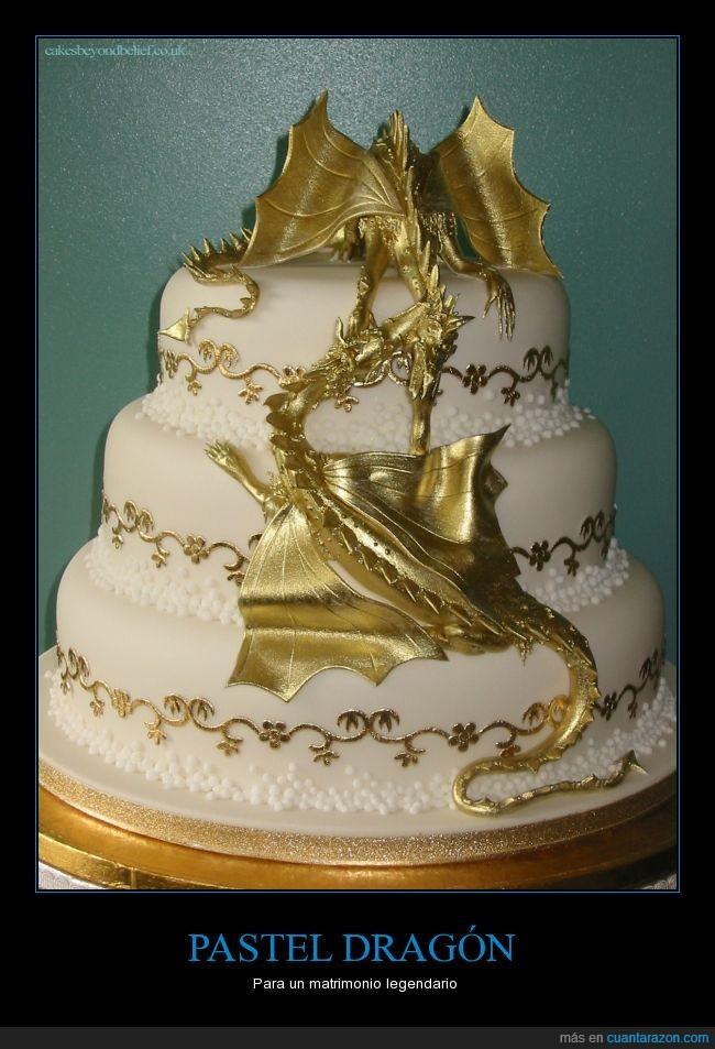boda,dragon,epicidad absoluta,legendario,pastel